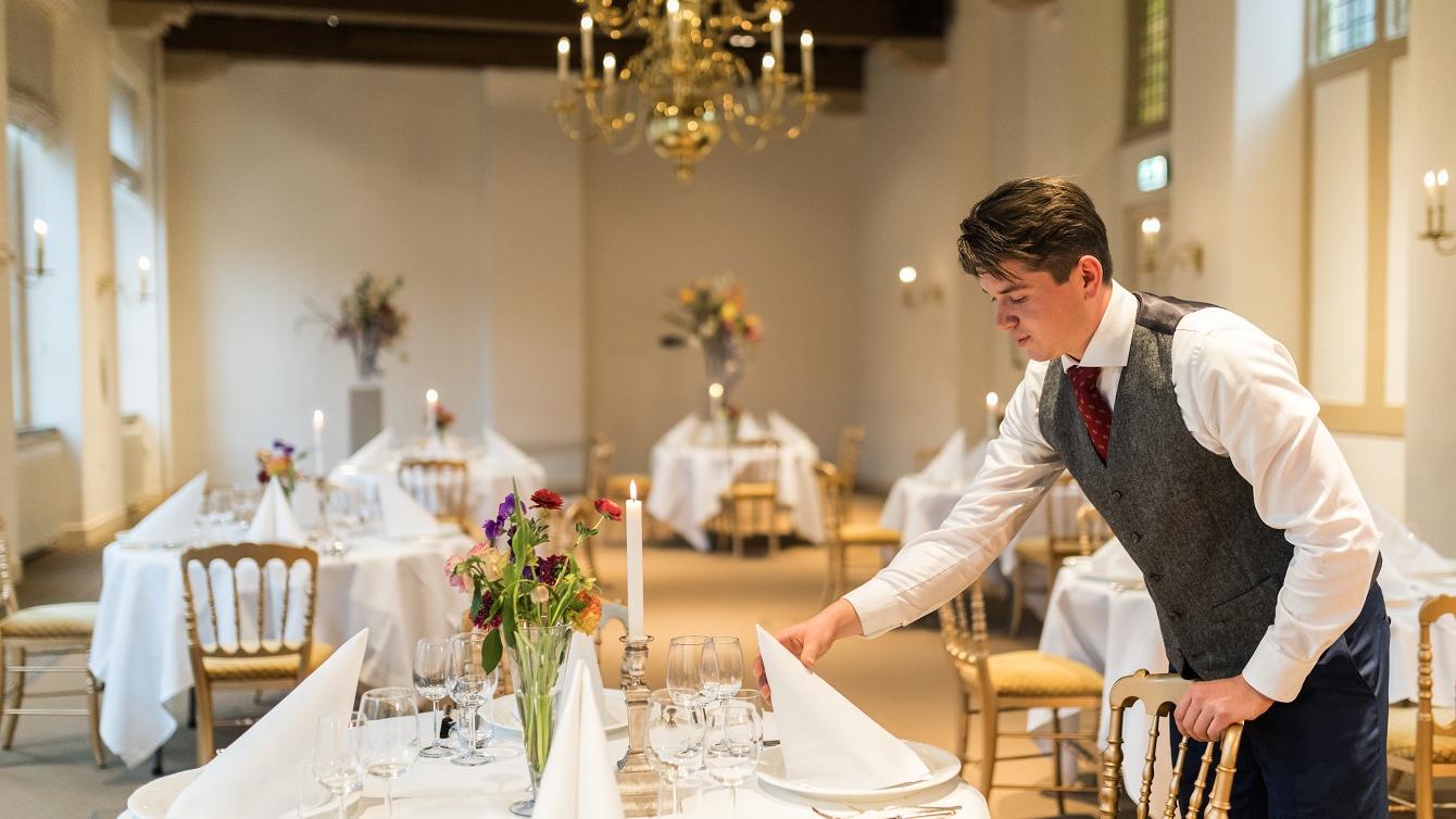Diner in de Beelaerts van Bloklandzaal