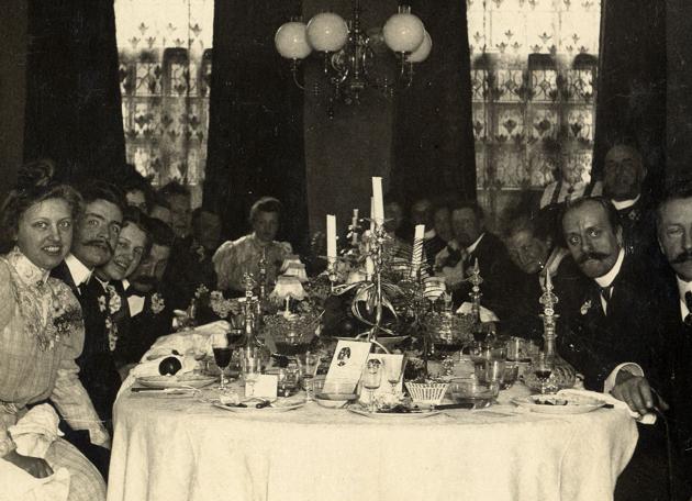 Familie diner Huize Molenaar