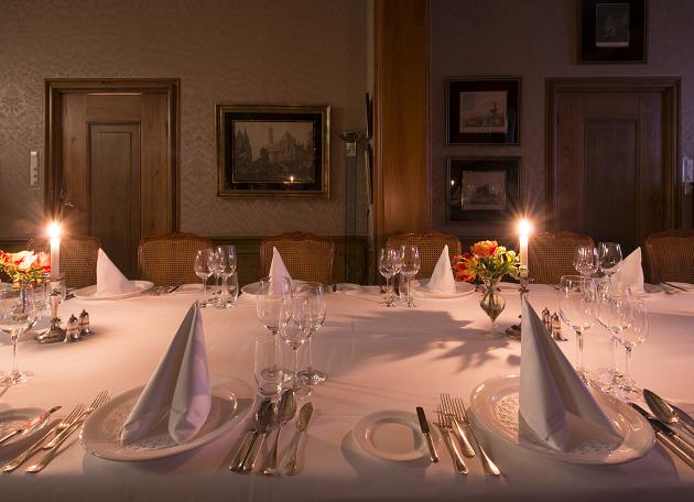 Diner in de Suite van Huize Molenaar
