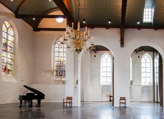 Kerkzaal Geertekerk zijaanzicht