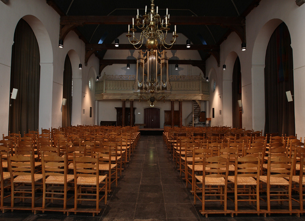 Geertekerk - Opstelling van voor 2012