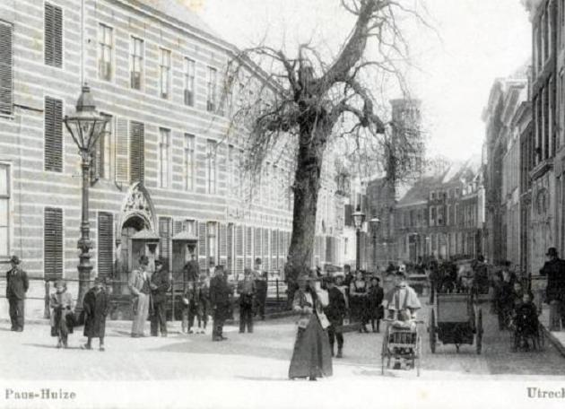 Paushuize tussen 1890 en 1900